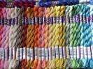 Click to view Perle 5, skein-Colour Variations.